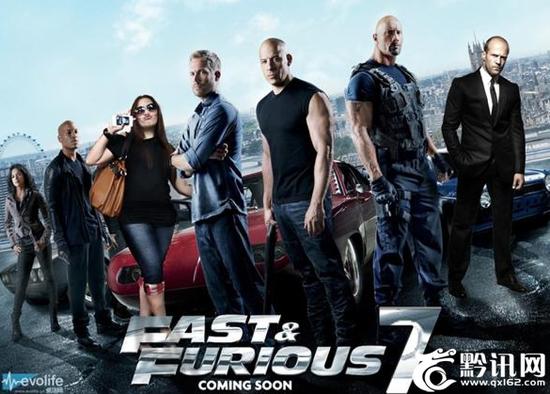 速度与激情7 取得高额票房的五大原因