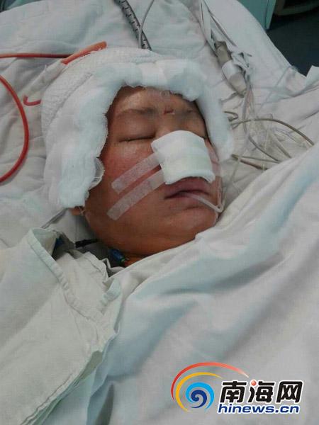 定安男子求助:妻子肿瘤复发还未出院儿子患病又急需手术