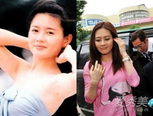 美人迟暮 香港三级片艳星今昔对比照__海南新