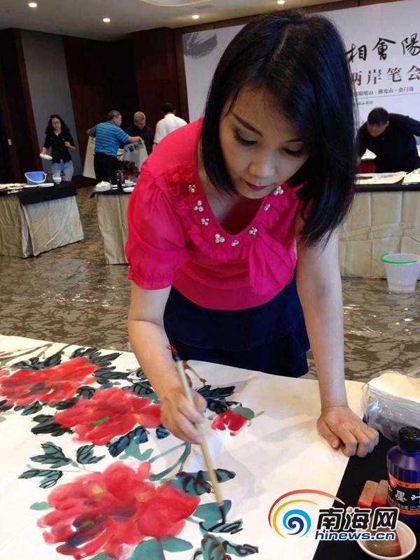 金门乡村民宿吸引海南名家 台湾美女画家向往