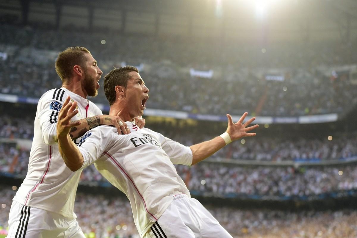 欧冠半决赛:皇马-尤文图片