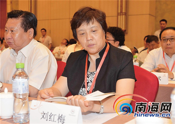 <b>中国水产科学研究院副院长刘红梅:开发水产养殖新品种造福海南</b>