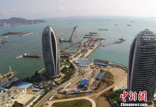 三亚规划造邮轮经济区在建亚洲最大邮轮母港[图]
