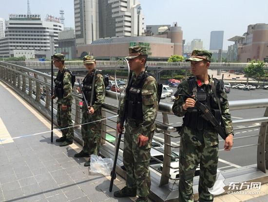 上海一银行遭疑似炸弹威胁 警方暂未发现爆炸物