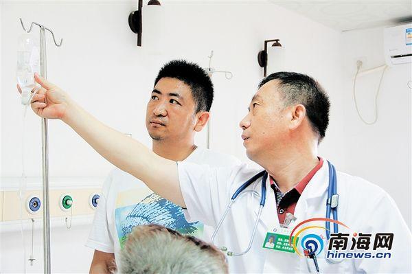三亚市中医院周军怀:能用便宜的药,就绝不用贵的
