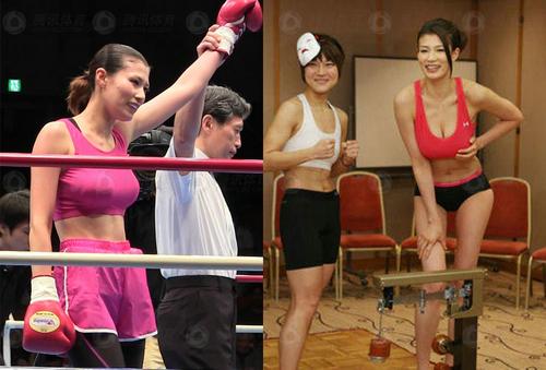 越南女拳手pk日本九头身美女
