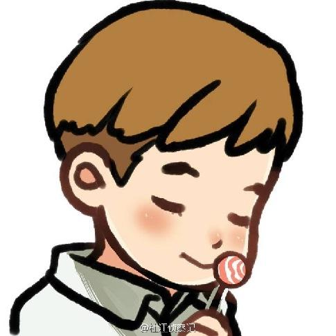 杜江晒儿子呆萌喝奶 儿子吃棒棒糖漫画首曝光
