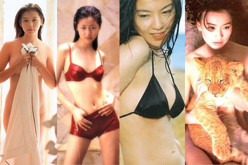 徐若瑄林心如林熙蕾 盘点玉女早年大尺度写真图片