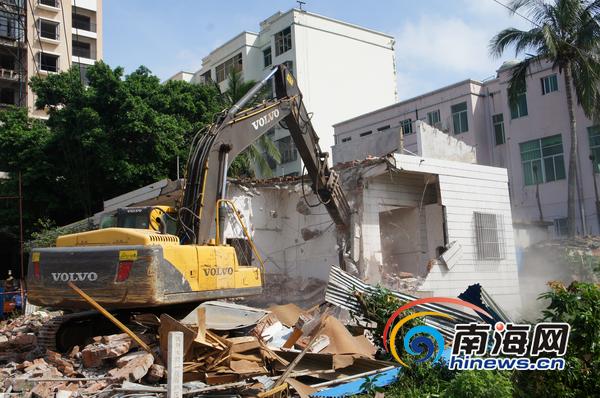 ... 丰镇旧城改造项目开始首拆 6户房屋被拆__海南新闻网