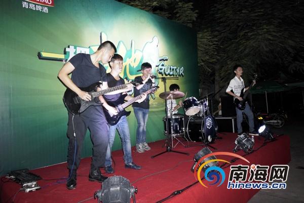 第三届海口青岛啤酒节新增吉他舞蹈两大主题
