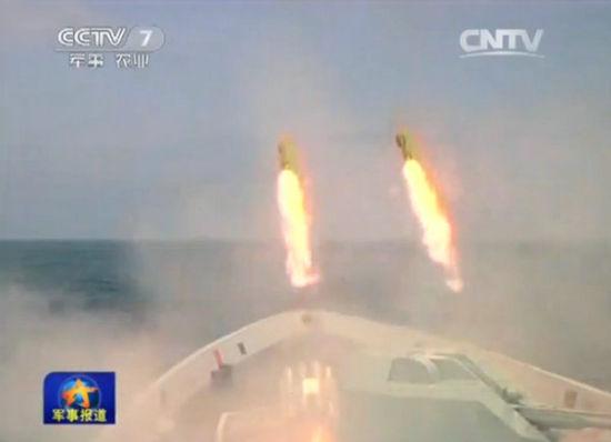 解放军大批预备役人员赴南海实弹打潜艇