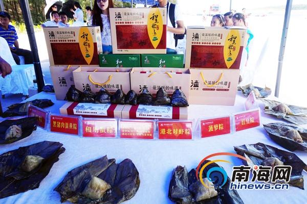 万宁和乐粽香醇可口声名远扬受游客追捧[图]