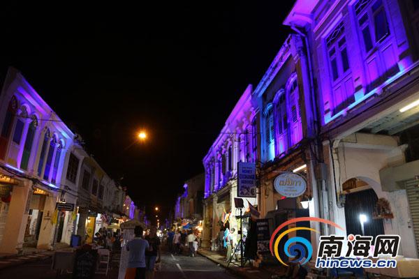 记者探访普吉老街恍若回到熟悉的海口骑楼老街