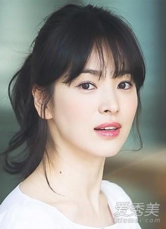 韩国美女明星排行榜 金泰熙第一宋慧乔第四