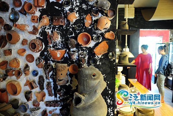 吴乾亮海南绿泥炻陶艺术馆暑期免费向三亚学生开放