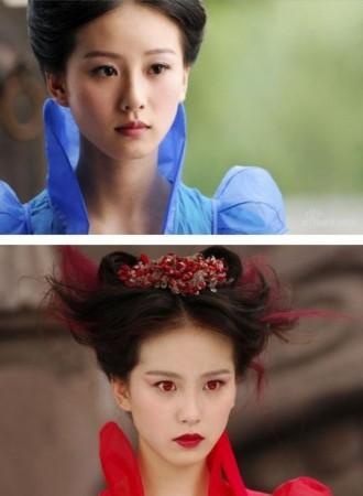 同一部戏饰演不同角色 明星换个身份独霸荧幕图片