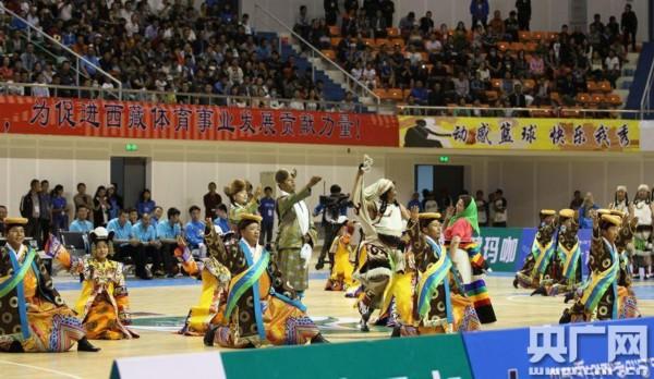 15年全国男子篮球联赛 NBL 揭幕战在拉萨揭幕
