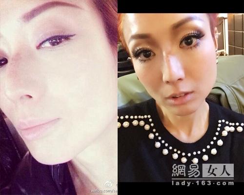 40岁李玟晒素颜照 大胆秀雀斑的女星(图)