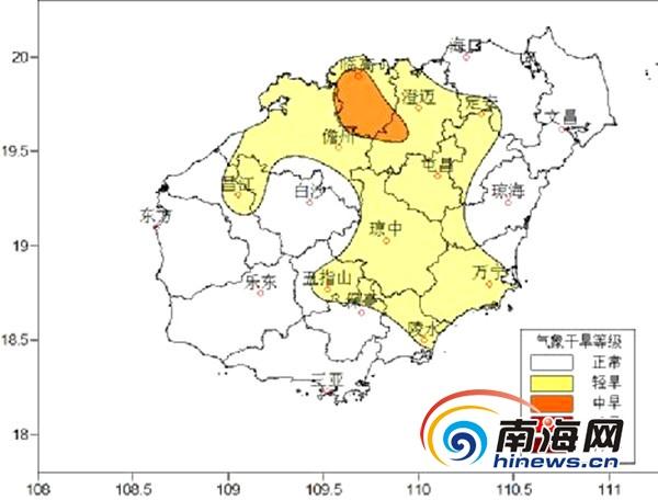 海南本周前中期西南部地区有降水周末天气转好