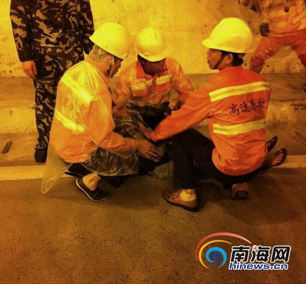 海南首次在公路隧道内开展应急演练检验应急处置能力