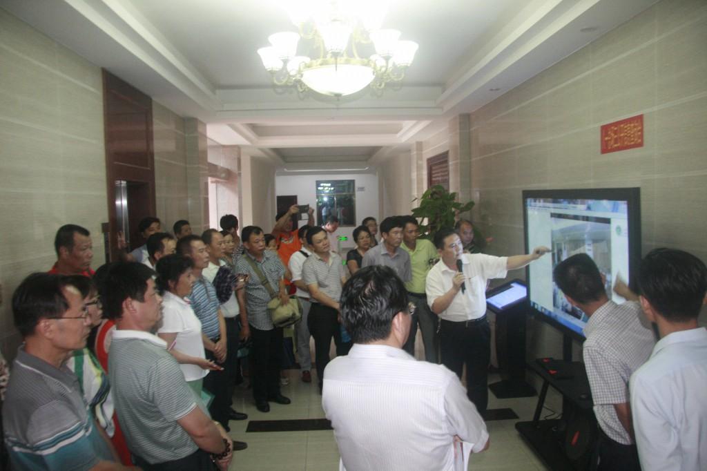 海南省厂务公开民主管理现场观摩会在八一召开