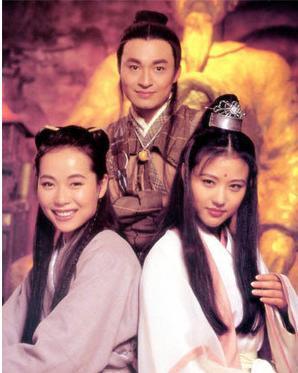 【倚天屠龙记】叶童马景涛版本的,这版里最经典的人物应该算是图片