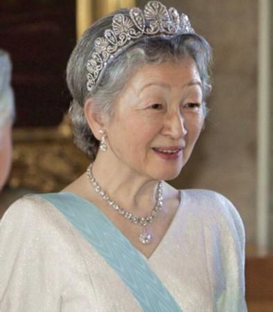 资料图:日本皇后美智子