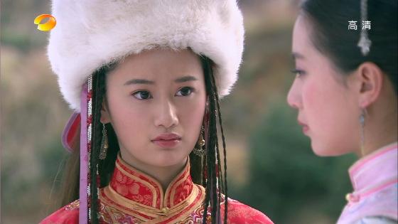 居照   斓曦古装照秀美大气   杨蓉在《宫2》里饰演袭香   杨蓉,虽然此