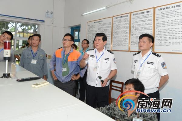海南省公安廳督導檢查海口危爆物品隱患大排查情況