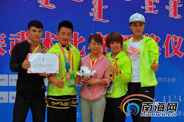 民运会海南武术共斩获1个二等奖2个三等奖创历届最好成绩