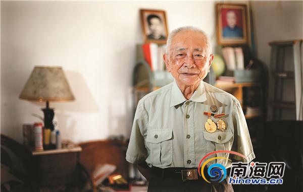 海南抗日老战士:曾用荔枝树制土大炮击毁日军军车