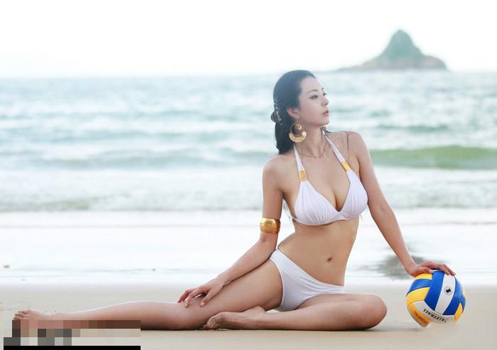 这才是真正的美女!中国第一黄金比例美女私照