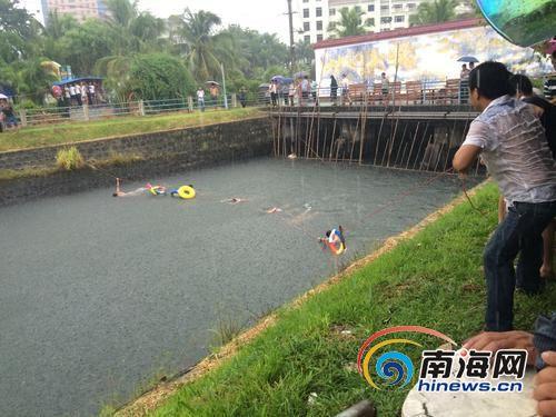 儋州16岁女孩争吵赌气跳下水渠男子救她双双溺亡