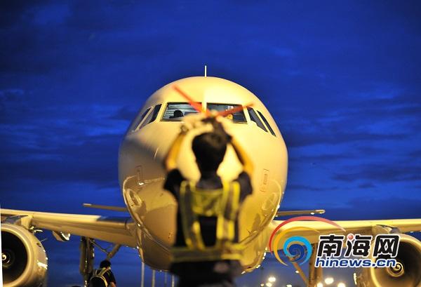南方航空全新空客降临美兰海南注册运力刷新至32架