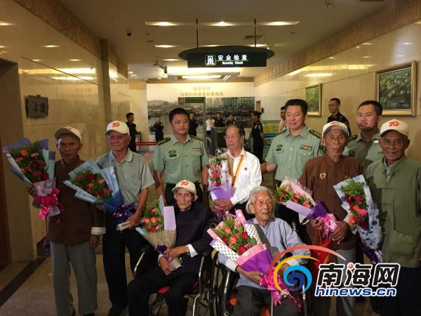 海南8名抗战老同志北京受阅归来回忆阅兵激动时刻
