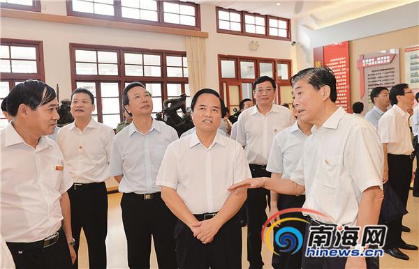 刘赐贵率海南省党政代表团赴古田会议会址学习考察