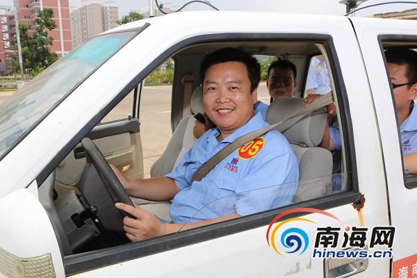 海南青年服务技能大赛:13名的哥进入出租车驾驶项目决赛
