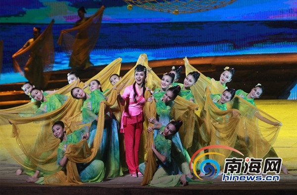 第二届海南省艺术节启幕罗保铭于迅出席