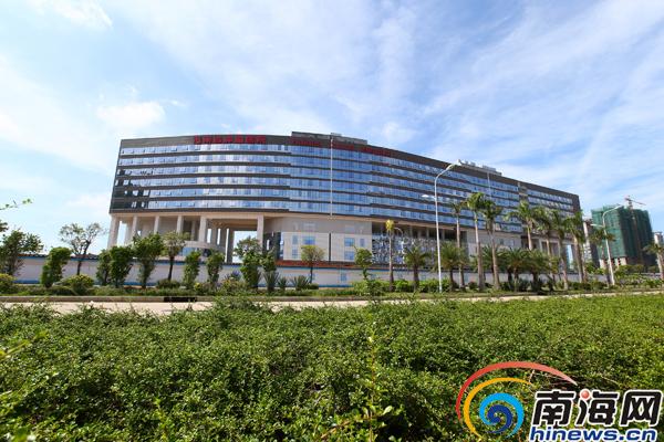 海南省肿瘤医院预计年底建成开业设病床1200张