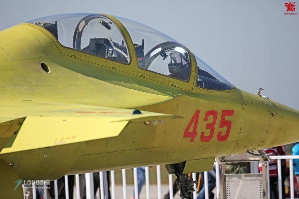 9月10日,飞机在长春基地进行了展示.