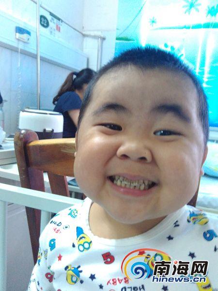 澄迈五岁男童身患怪病一年住院七次花光家里积蓄
