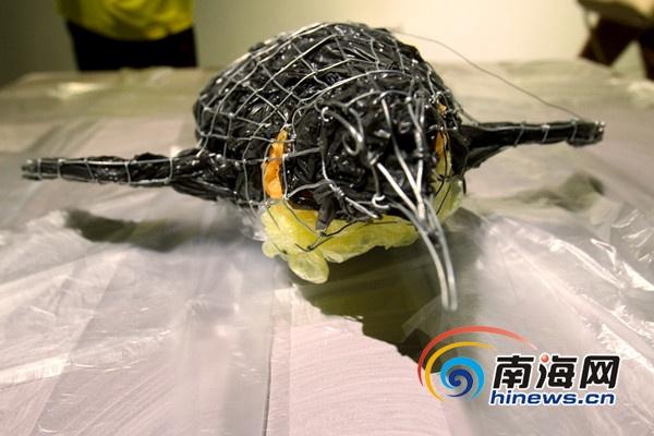 海口废弃铁艺艺术展国庆开展用艺术品呼唤环保[图]