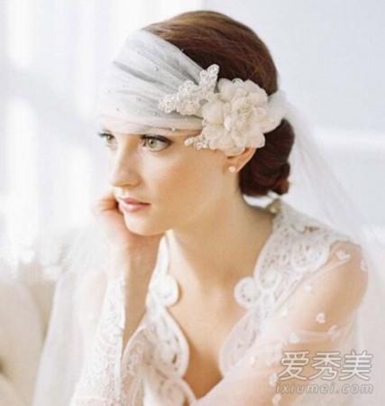 学baby公主般出嫁!戴皇冠适合的新娘发型图片