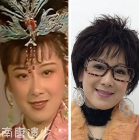 """美女今昔对比照(图)   鲁瑛—《聊斋·地府娘娘》饰""""春燕""""高清图片"""