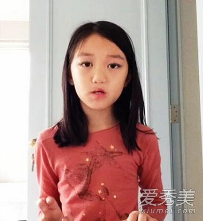 王菲小女儿李嫣玩变装 可爱近照曝光