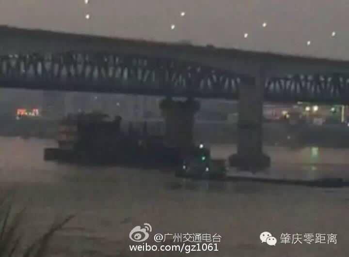 西江公鐵大橋被撞擊17日海南2趟進出島列車改從廣州始發