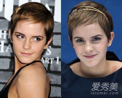 欧美短发女星示范 短发也可以性感和可爱