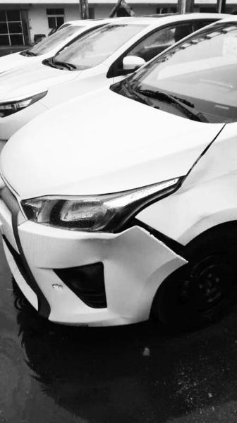 新车还没未交付海口一家4S店员工驾驶出车祸[图]