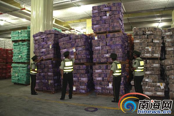18个集装箱装660吨冻品海南破获迄今最大走私冻品案