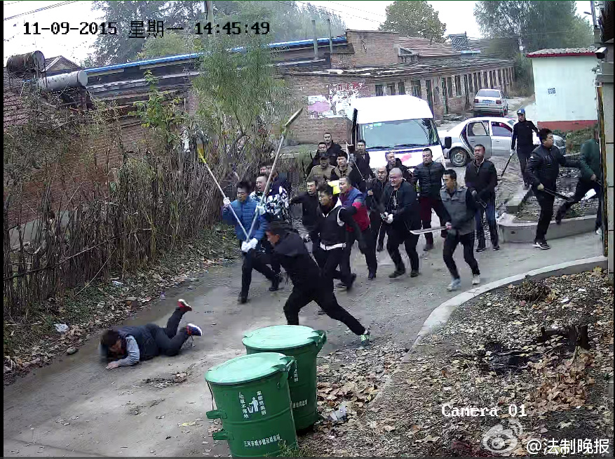 河北燕郊一待拆迁村庄连现伤人案 8人被砍